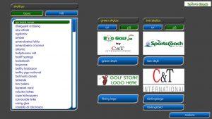 Annonsering-golfsimulator